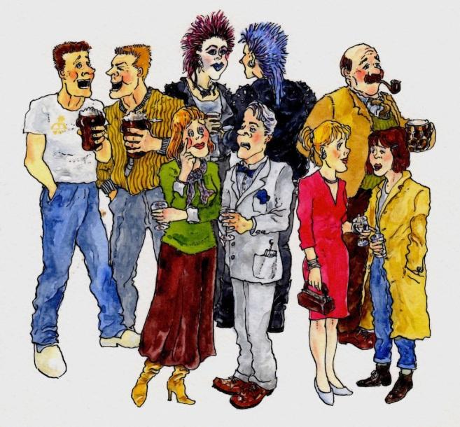 Pub people 2