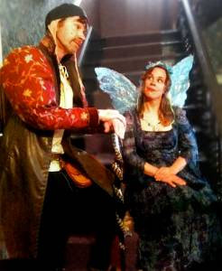 All on his sleeve... Prospero falls for the Faery Queen (Su Squire)