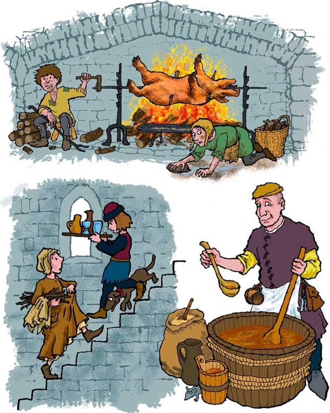 Warkworth-Castle-folk-by-Jim-Kavanagh
