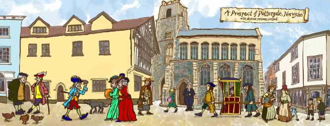 Pottergate Norwich by jim Kavanagh